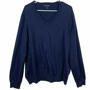 Brooks Brothers V Neck Sweater Size XL Pima Cotton
